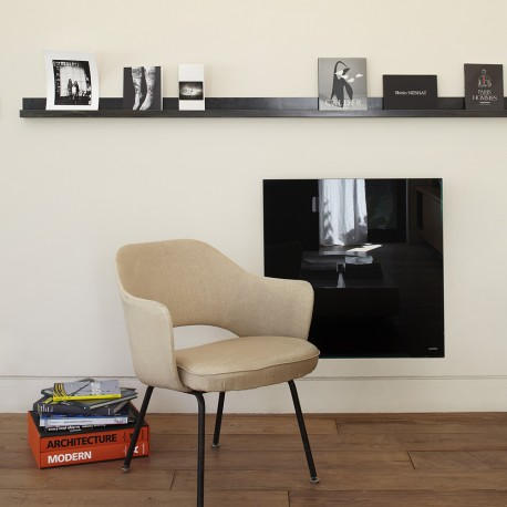 CAMPASTYLE Glace Horizontal Noir Astrakan